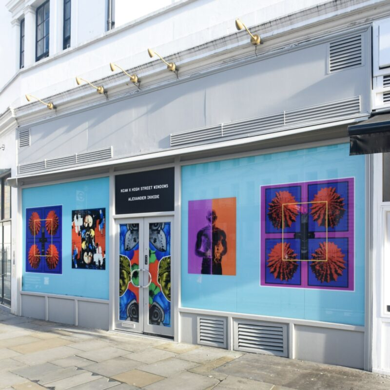 Windows Alive_Kensington + Chelsea Art Week_KCAW_High Street Windows_London street art festival