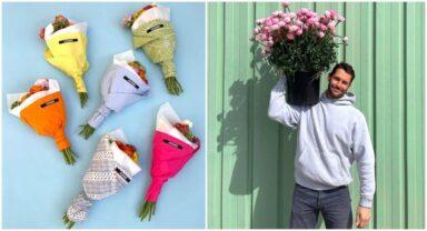 Jacquemus, Les Fleurs pop-up shop