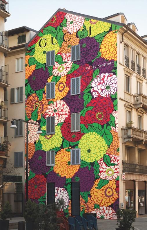 Gucci ArtWalls: Ken Scott Largo La Foppa, Milan