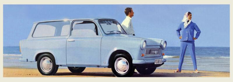 Advertising brochure Trabant 601 Universal, 1965, © faksimile: Trabant Team Freital e.V. (www.trabantteam- freital.de) Freital, 2020