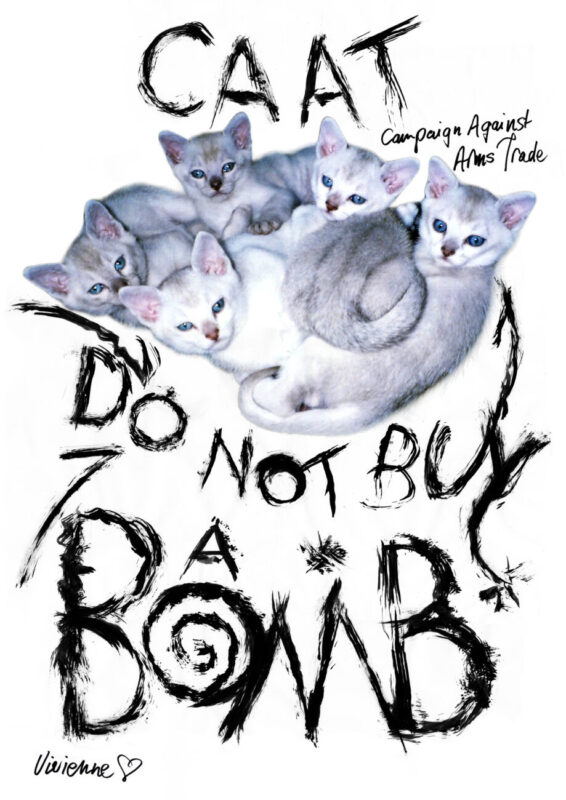 DO NOT BUY A BOMB poster, Courtesy of Vivienne Westwood press