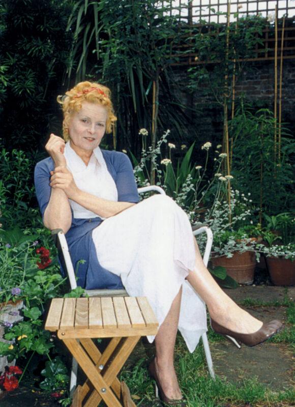 Vivienne Westwood shot by Ben Garden. Courtesy of VW press