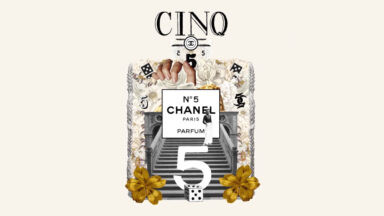 """Still taken from CHANEL's promotional film """"N°5, 100 Years of Celebrity"""""""