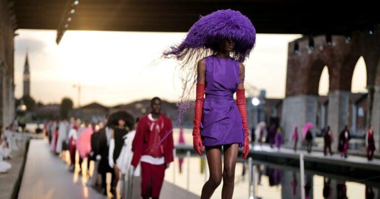 Valentino Fall 2021 Couture Show Venice