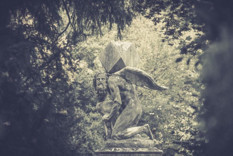 Riccardo Morandini Eden new EP Statue of time @ Valsanzibio Garden of Villa Barbarigo